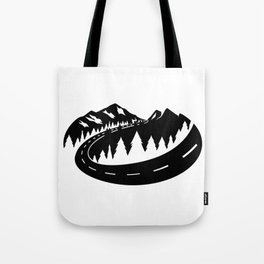 Cascade Camper Stealth Logo Tote Bag