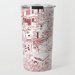 Asakusa in Red Travel Mug