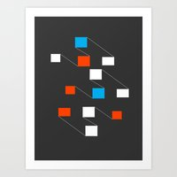 building Art Prints featuring building by Matt Edward
