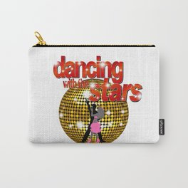 Dancing with the Stars Disco ball Dancers silhouette 2 Carry-All Pouch