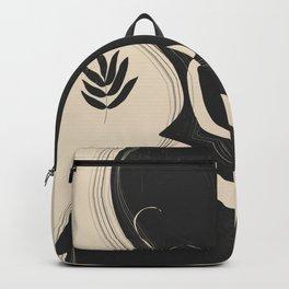 Tropical Girl /Abstract Minimal 3 Backpack