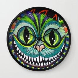 Cheshire puss Wall Clock