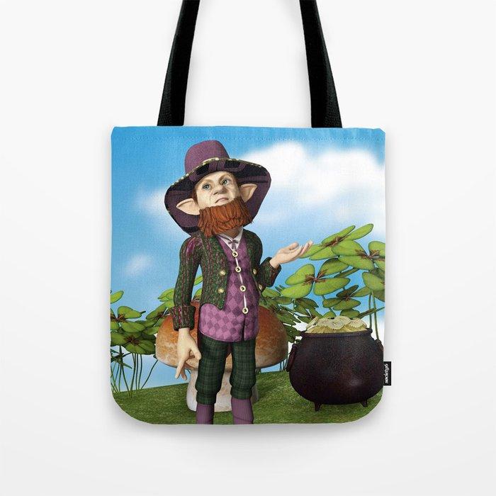 Leprechaun Tote Bag