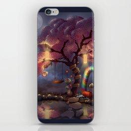 Candy Wonderland Tree iPhone Skin