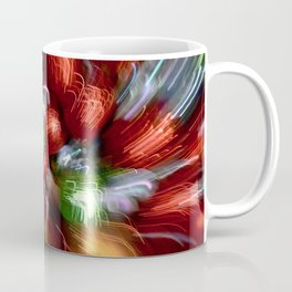 Abstract Red & Green Motion Blur Coffee Mug
