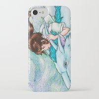 spirited away iPhone & iPod Cases featuring Spirited Away by Kimberly Castello