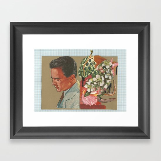 Things that once where known Framed Art Print