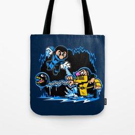 Mario Kombat Tote Bag