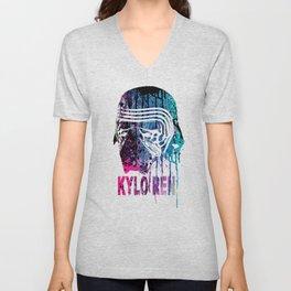 WARS #KYLO REN #COLOR Unisex V-Neck