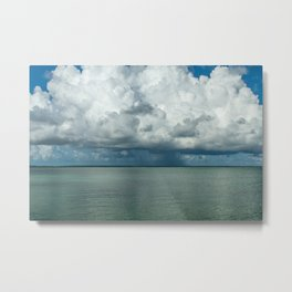 Heavy clouds Metal Print