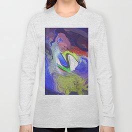 Abstract Mandala 204 Long Sleeve T-shirt