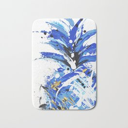 Chase the Blue Pineapple Bath Mat