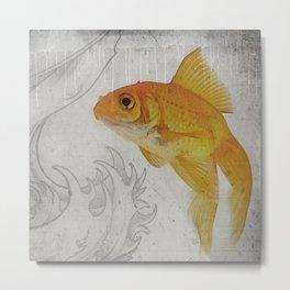 3 Goldfish Metal Print