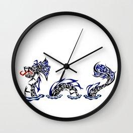Lock Ness Monster Wall Clock