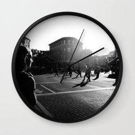 City Streets Wall Clock
