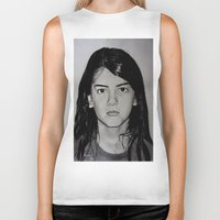 blanket Biker Tanks featuring Blanket Jackson by Brooke Shane