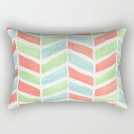 Pastel fishbone Rectangular Pillow