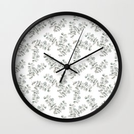 Baby Eucalypt Wall Clock