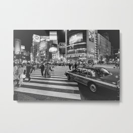 Shibuya Crossing III Metal Print