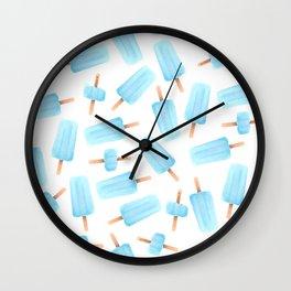 Sea Salt Ice Cream Wall Clock