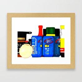 Fizz Framed Art Print