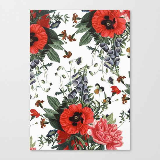 Spring floral Canvas Print