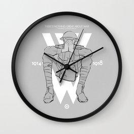 WW1 Centenary Wall Clock