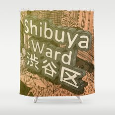 Area Name Shower Curtain