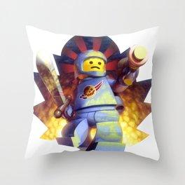 The Deadly Spaceman Throw Pillow