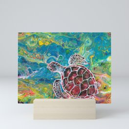 Sea Turtle Dream Mini Art Print
