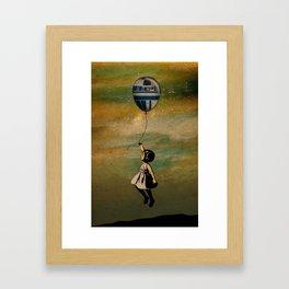 Infancia Galáctica Framed Art Print