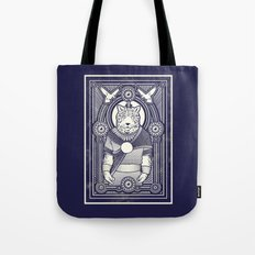 Visitor from the West Tote Bag