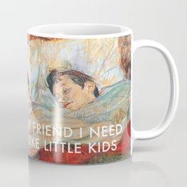 Sharing Beds Coffee Mug