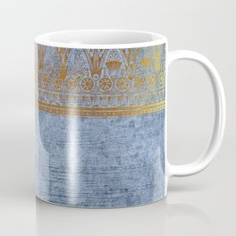 Blue Egypt Coffee Mug