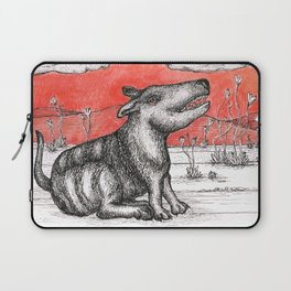 Red Dog in Hell Laptop Sleeve