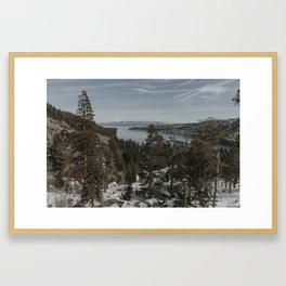 Tahoe in the Spring Framed Art Print