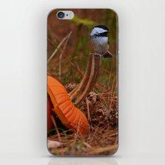 A Chickadee Thanksgiving iPhone & iPod Skin