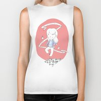 laura palmer Biker Tanks featuring You are my Laura Palmer by Lionel Hotz