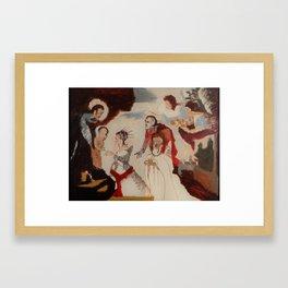 After tintoretto Framed Art Print