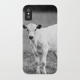 Black and White Calf iPhone Case