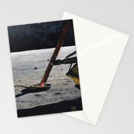 Magnificent desolation Stationery Cards