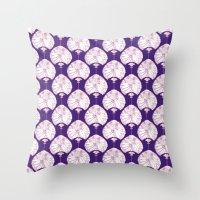 lanterns Throw Pillows featuring Lanterns by Bunyip Designs
