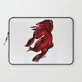 Art Doodle No. 36 Betta Fish Laptop Sleeve