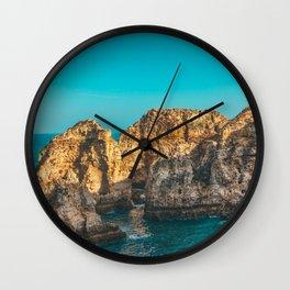 Ponta da Piedade, Algarve, Portugal Wall Clock