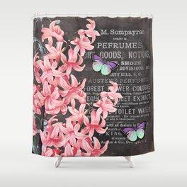 Vintage Flowers #1 Shower Curtain