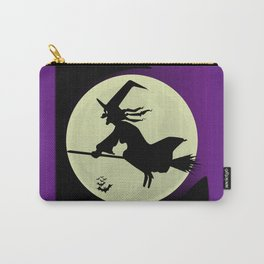 Witch and the Moon Carry-All Pouch