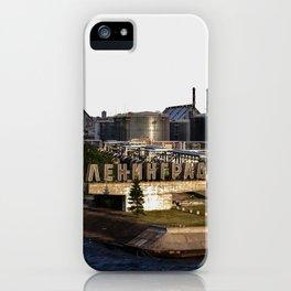 Leaving St. Petersburg iPhone Case