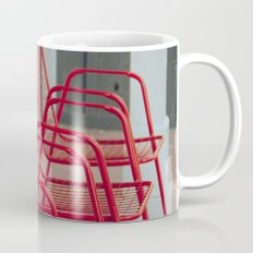 Red Chairs Coffee Mug