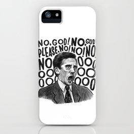 Michael | Office iPhone Case