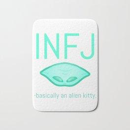 INFJ Alien Bath Mat